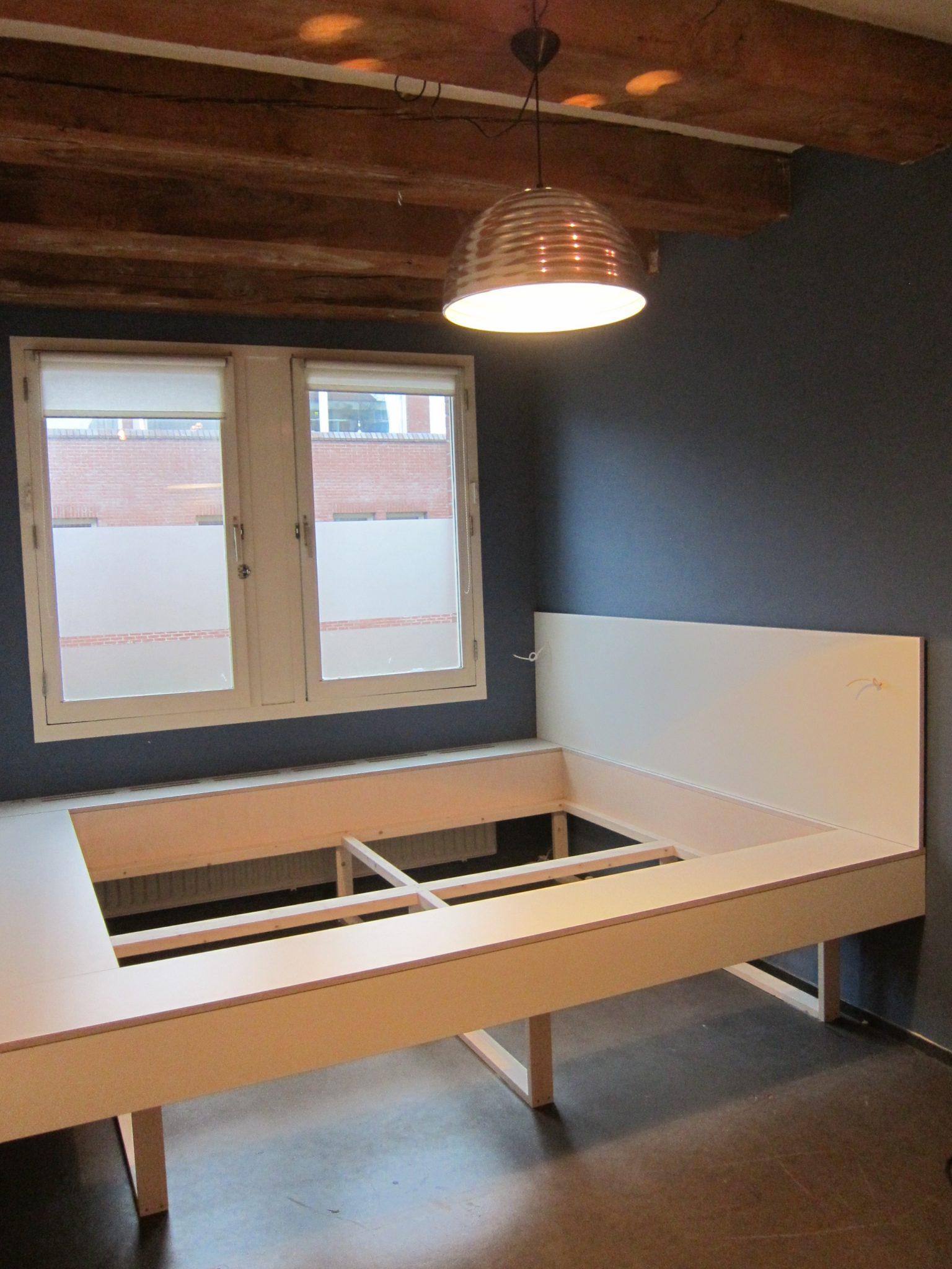 Inbouwbed vincent niekerk meubelmaker amsterdam for Meubelmaker amsterdam