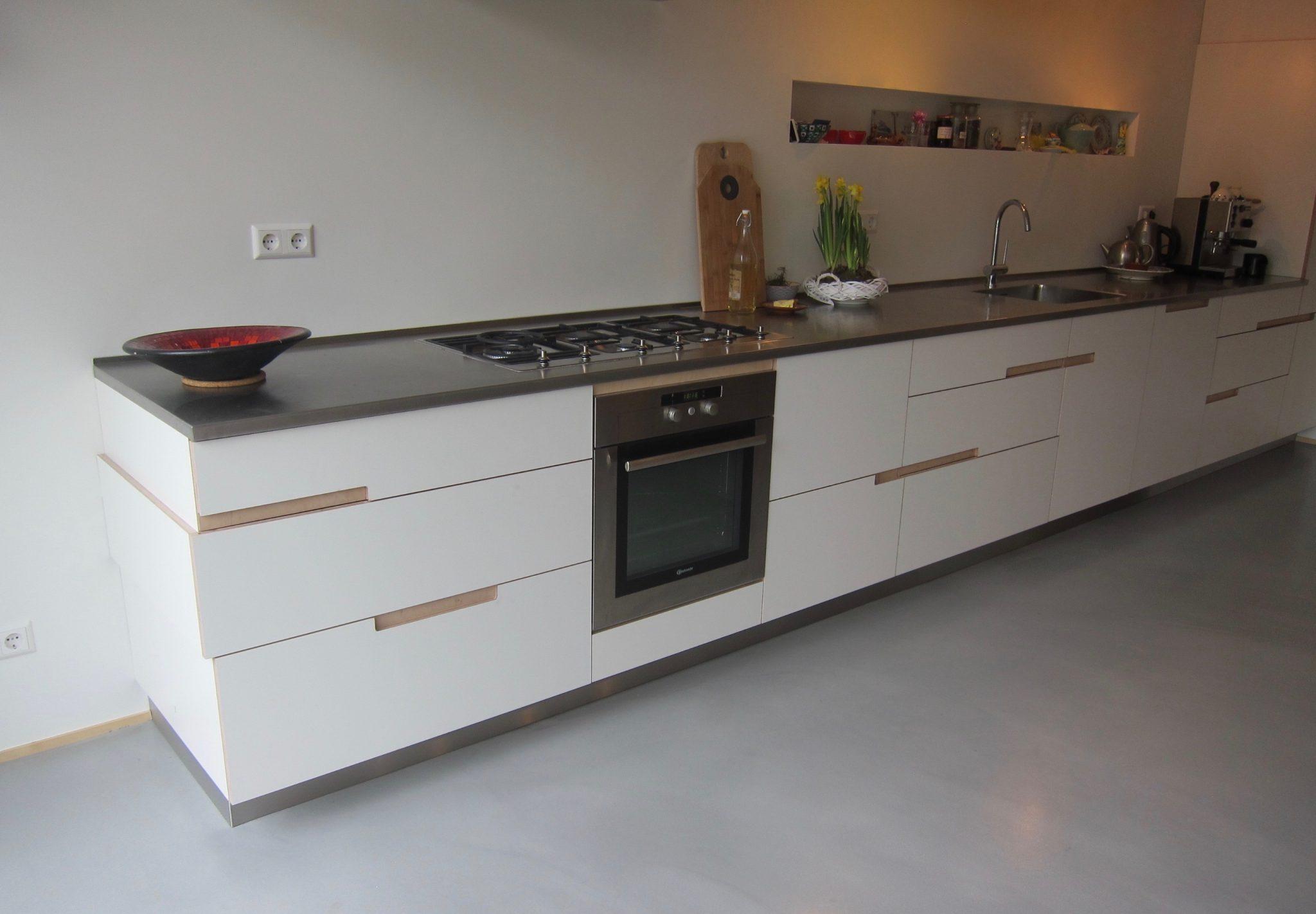 Keuken nieuwendam vincent niekerk meubelmaker amsterdam for Meubelmaker amsterdam