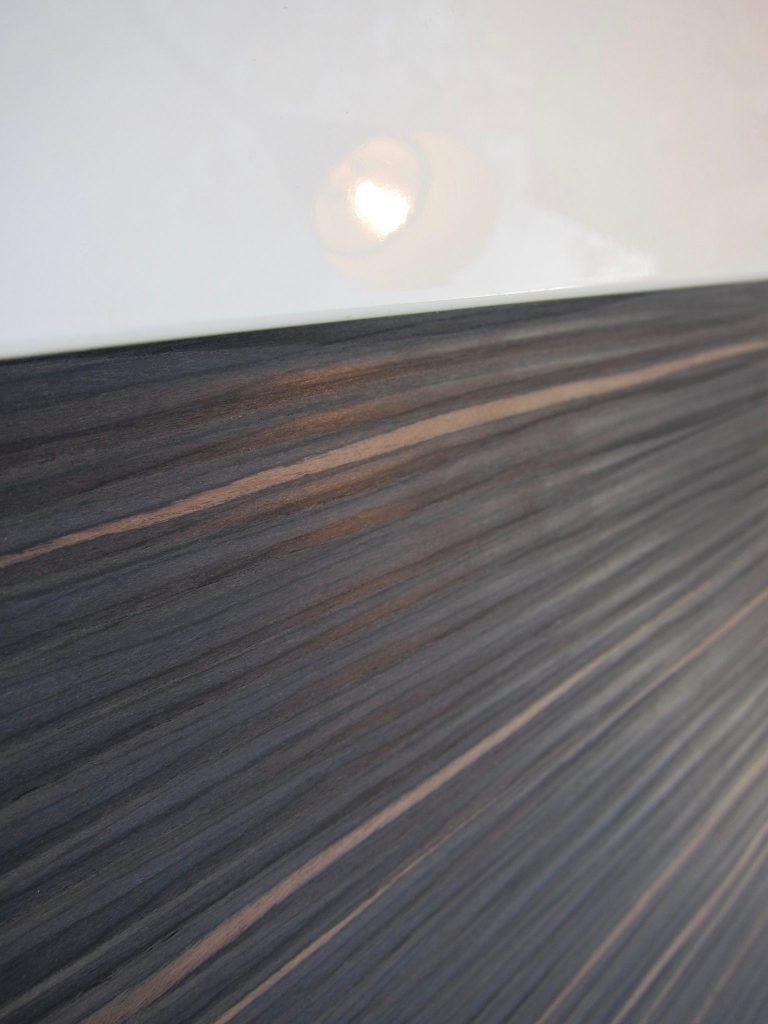 Decorpaneel Egger textures in combinatie met hoogglans gespoten MDF