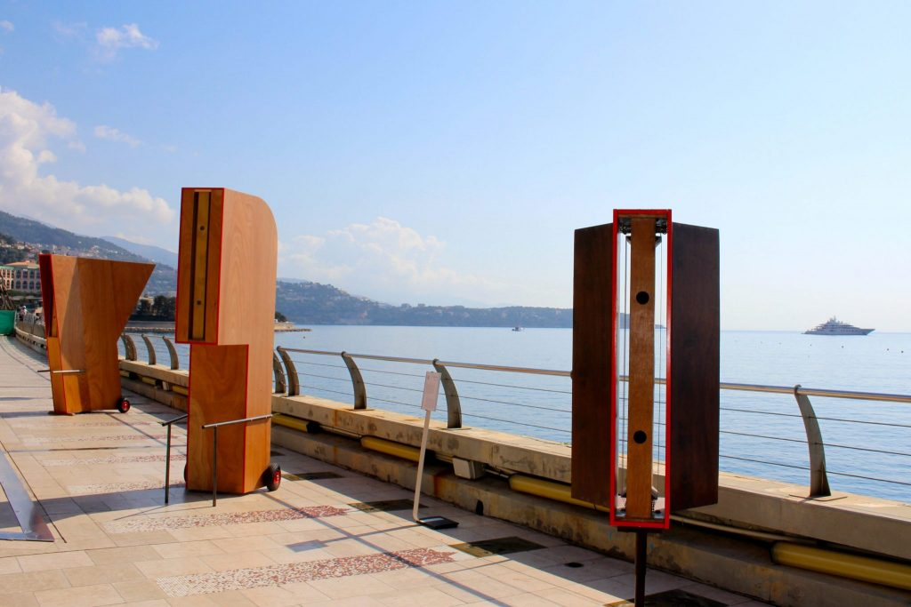 De Vayu-Vata harpen in Monaco
