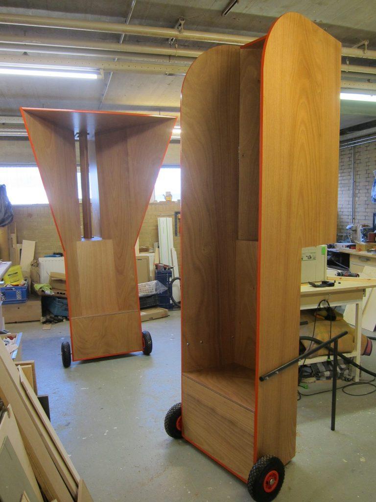 De Vayu-Vata harpen op de werkplaats