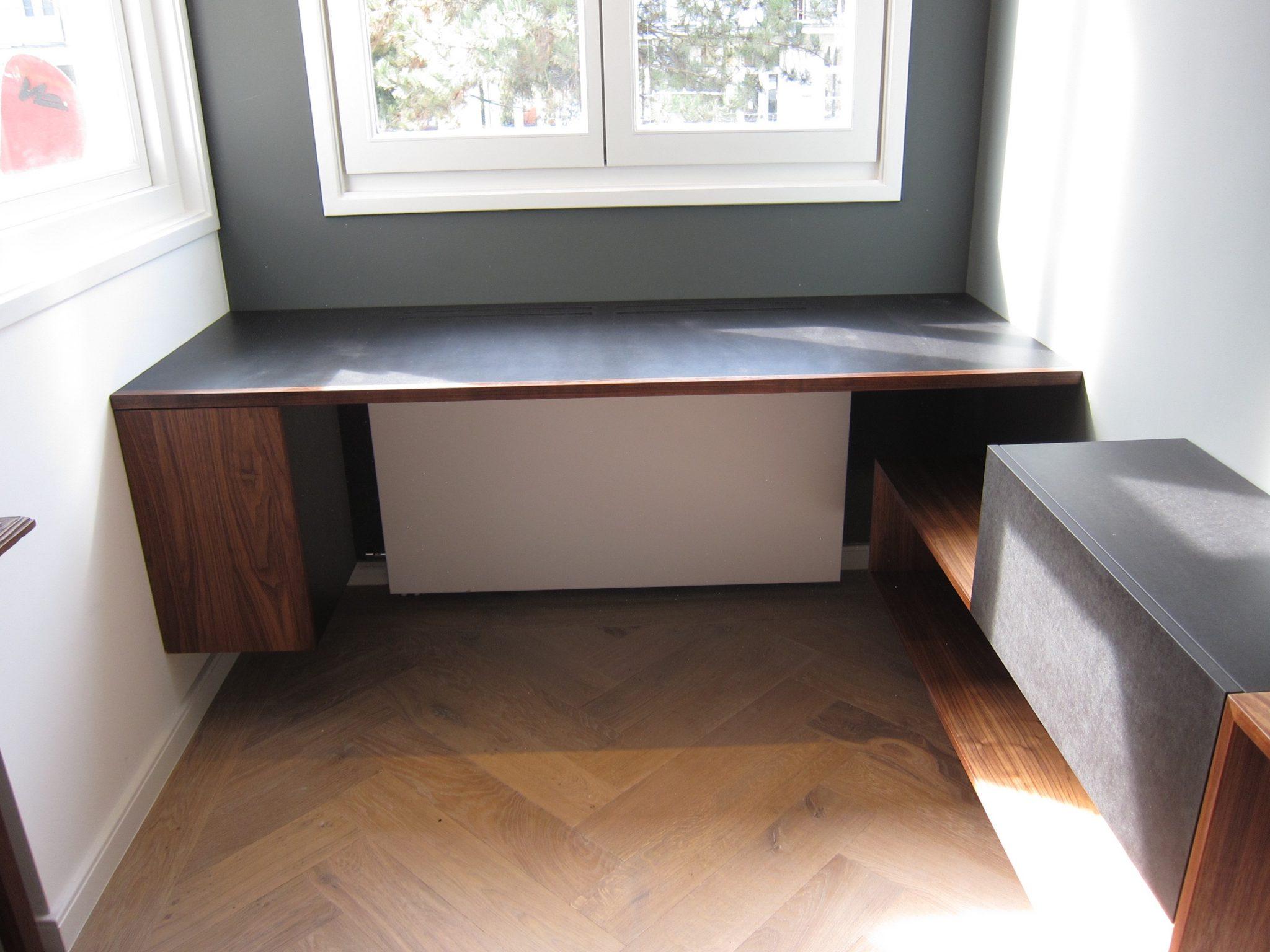 Dressoir en bureau vincent niekerk meubelmaker amsterdam