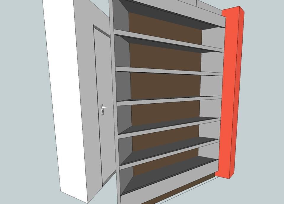 3D presentatie van eigen ontwerp in Sketchup