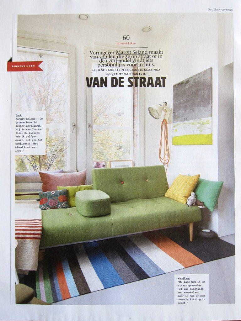 Keuken in de volkskrant vincent niekerk meubelmaker for Meubelmaker amsterdam